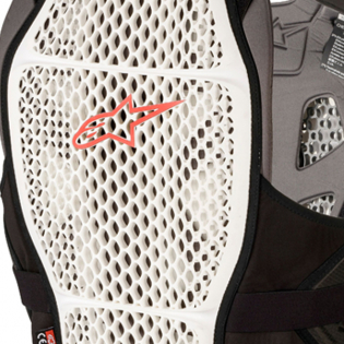 Alpinestars A4 Max White Anthracite Red Chest Protector Image 4