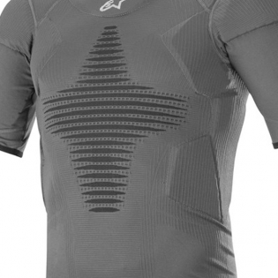 Alpinestars Roost Base Layer Anthracite Black Top Image 2