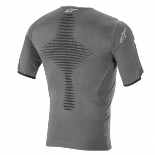 Alpinestars Roost Base Layer Anthracite Black Top Image 3