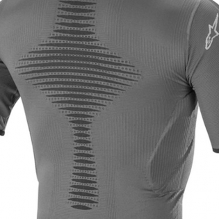 Alpinestars Roost Base Layer Anthracite Black Top Image 4