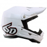 6D ATR-1 Gloss White Helm