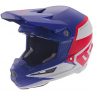 6D ATR-1 Flight Red White Blue Helmet