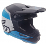 6D ATR-1 Flight Black Blue Helmet