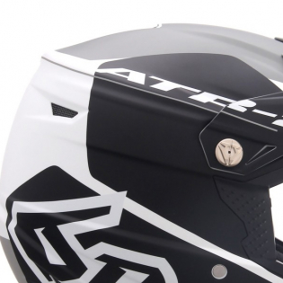 6D ATR-2 Shadow Black Helmet Image 2
