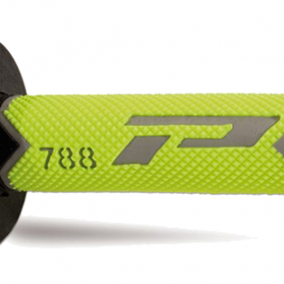 ProGrip 788 Triple Density Flo Yellow Grey Black Grips Image 3