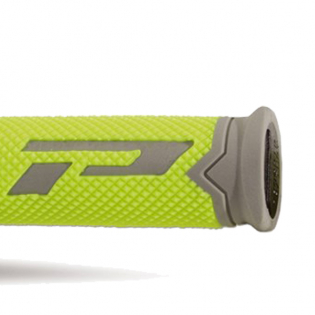 ProGrip 788 Triple Density Flo Yellow Grey Black Grips Image 4