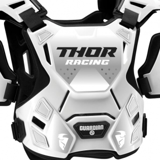 Thor Guardian White Black Body Protector Image 2