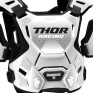 Thor Guardian White Black Body Protector