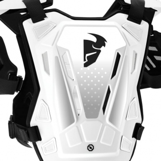 Thor Guardian White Black Body Protector Image 3