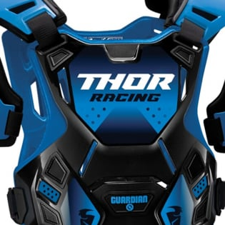 Thor Kids Guardian Black Blue Body Protection Image 2