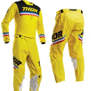 Thor Pulse Pinner Yellow Black Pants Image 2