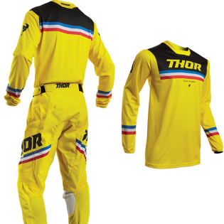 Thor Pulse Pinner Yellow Black Pants Image 4