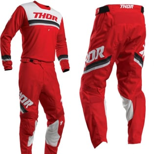 Thor Pulse Pinner Red White Pants Image 2