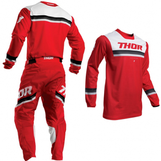 Thor Pulse Pinner Red White Pants Image 4