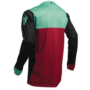 Thor Pulse Air Factor Black Mint Jersey Image 3