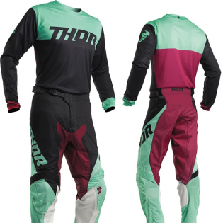 Thor Pulse Air Factor Black Mint Jersey Image 4