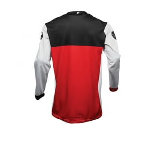 Thor Pulse Air Factor White Red Jersey Image 3