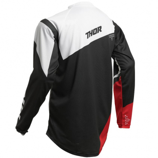 Thor Kids Sector Blade Charcoal Red Jersey Image 3