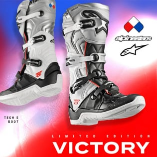 Alpinestars Tech 5 Limited Edition Victory Boots Image 3