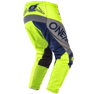 ONeal Element Factor Grey Blue Yellow Pants Image 3