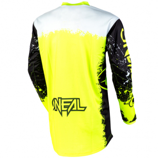 ONeal Element Impact Black Neon Yellow Jersey Image 3