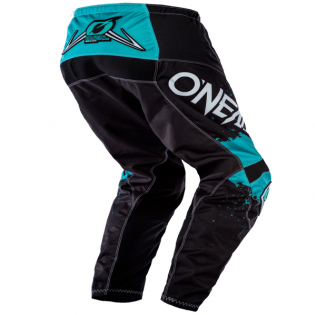 ONeal Element Impact Black Teal Pants Image 3