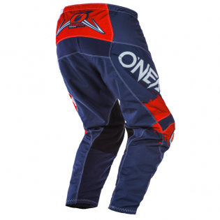 ONeal Element Impact Blue Red Pants Image 3