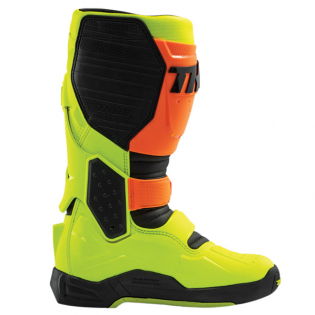 Thor Radial Flo Orange Yellow Boots Image 3