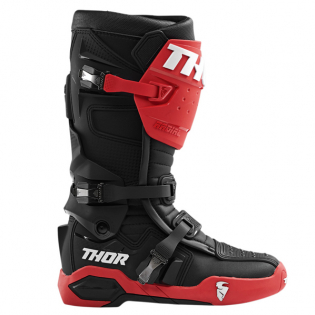 Thor Radial Black Red Boots Image 2