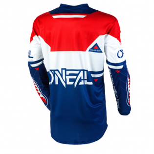ONeal Element Warhawk Blue Red Jersey Image 3