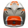 Bell Moto 9 Carbon Flex Division White Orange Sand Helmet