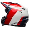 Bell Moto 9 Carbon Flex Division White Blue Red Helmet
