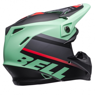Bell Moto 9 MIPS Prophecy Green Infrared Black Helmet Image 3