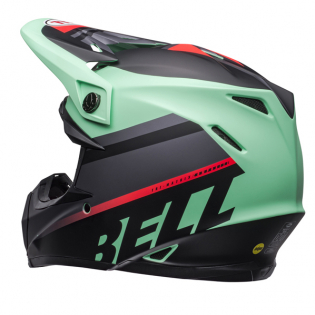 Bell Moto 9 MIPS Prophecy Green Infrared Black Helmet Image 4