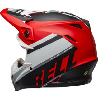 Bell Moto 9 MIPS Prophecy White Red Black Helmet Image 2