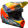 Bell Moto 9 MIPS Tagger Breakout Orange Yellow Helmet