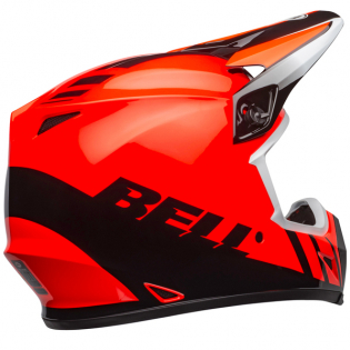 Bell MX9 MIPS Dash Orange Black Helmet Image 2