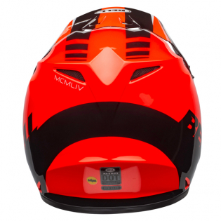 Bell MX9 MIPS Dash Orange Black Helmet Image 3