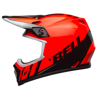 Bell MX9 MIPS Dash Orange Black Helmet Image 4