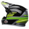 Bell MX9 MIPS PC Black Green Helmet