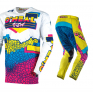 ONeal Mayhem Lite Crackle 91 Yellow White Blue Pants