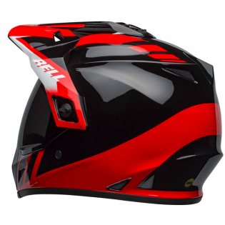 Bell MX9 MIPS Adventure Dash Black Red White Helmet Image 2