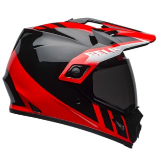 Bell MX9 MIPS Adventure Dash Black Red White Helmet Image 4