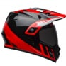 Bell MX9 MIPS Adventure Dash Black Red White Helmet