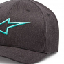 Alpinestars Ageless Curve Cap - Charcoal Heather Turquoise