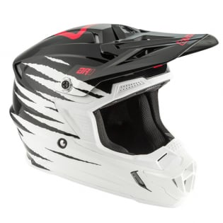 Answer AR1 Pro Glo White Black Pink Helmet Image 2