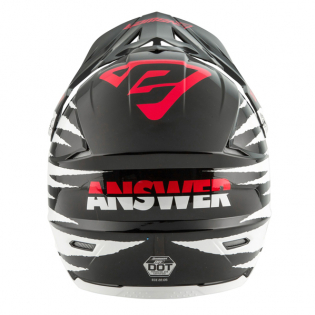 Answer AR1 Pro Glo White Black Pink Helmet Image 4