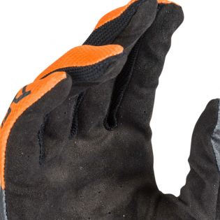 Answer AR-1 Voyd Charcoal Orange Grey Gloves Image 3