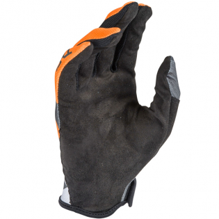 Answer AR-1 Voyd Charcoal Orange Grey Gloves Image 4
