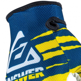 Answer AR-1 Glo Pro Yellow Midnight White Gloves Image 2